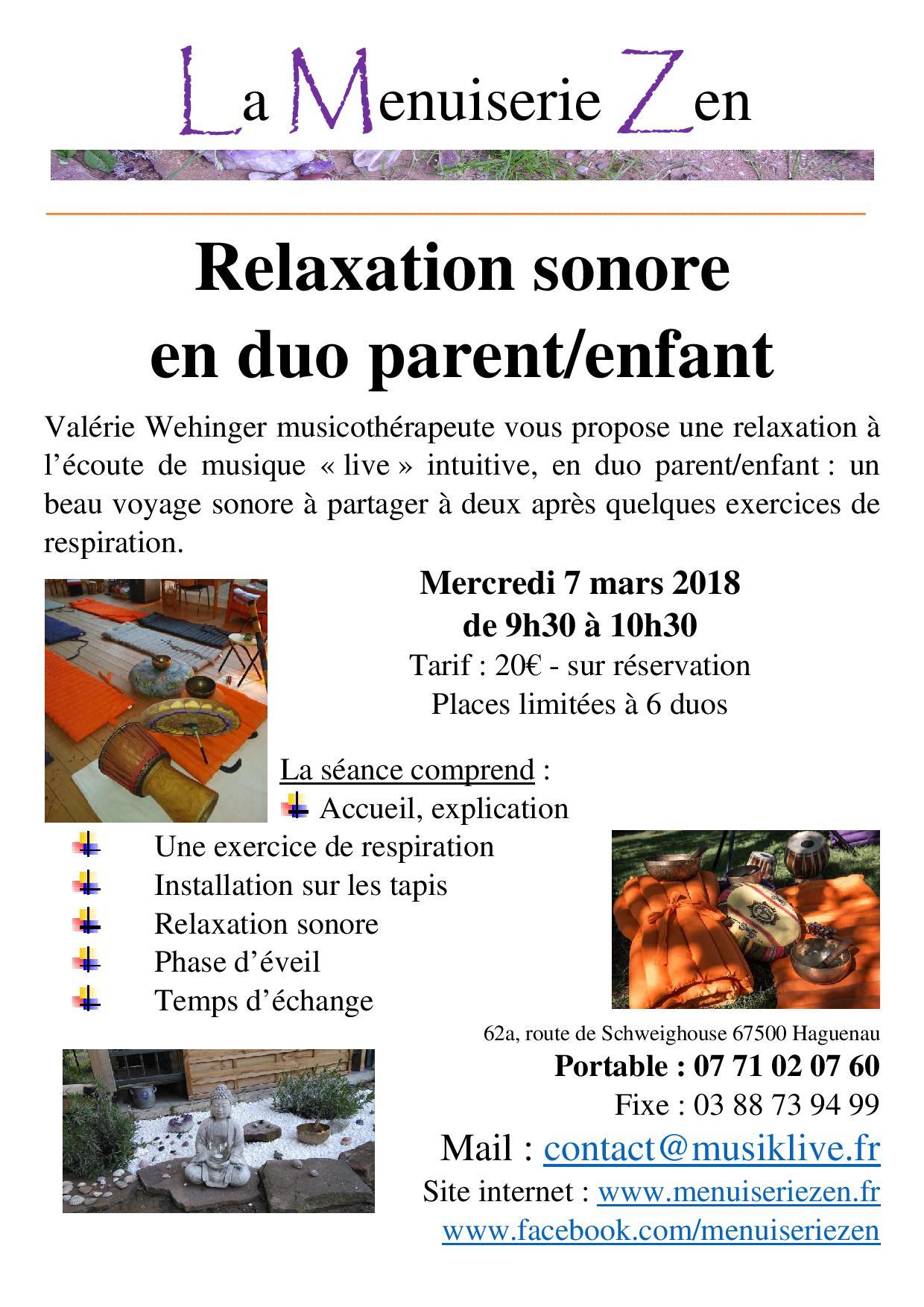 relaxation haguenau